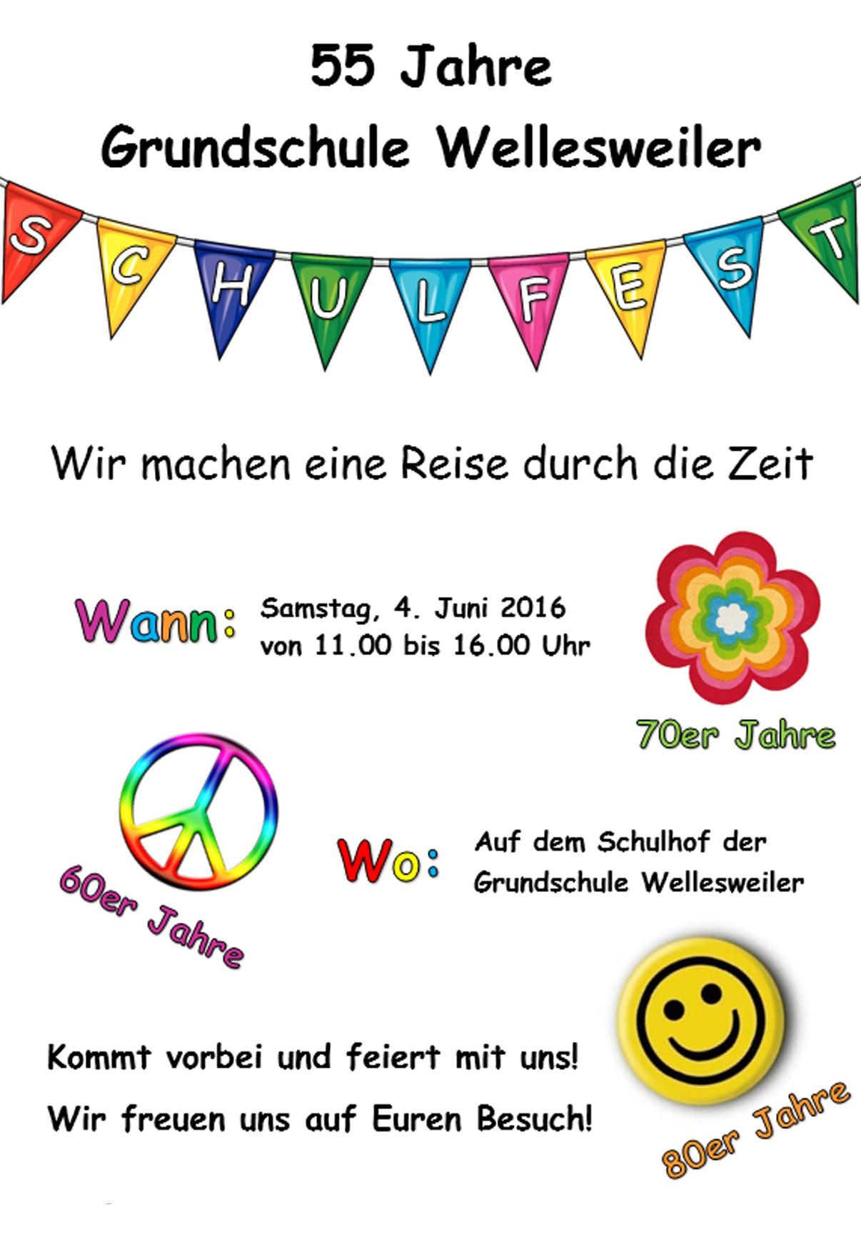 Grundschule Wellesweiler Schulfest